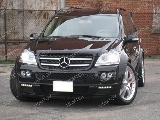 Mercedes - Benz - GL450 - LED - daytime - running - lights - 4